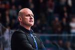 Stockholm 2014-02-24 Ishockey Hockeyallsvenskan Djurg&aring;rdens IF - S&ouml;dert&auml;lje SK :  <br /> S&ouml;dert&auml;ljes tr&auml;nare Andreas Johansson <br /> (Foto: Kenta J&ouml;nsson) Nyckelord:  portr&auml;tt portrait