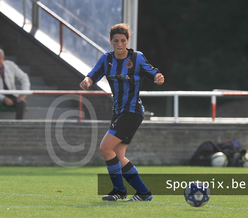 Club Brugge Dames : Jasmine Vanysacker.Foto David Catry / Vrouwenteam.be