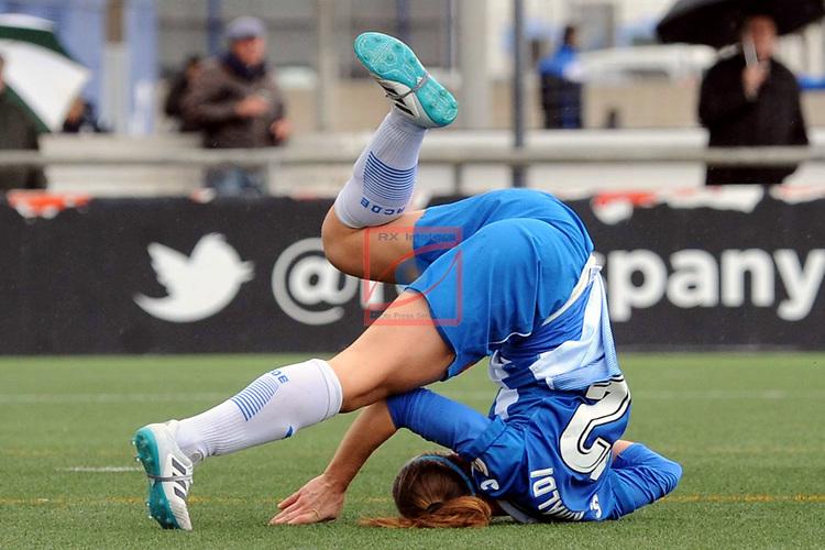 Spanish Women's Football League Iberdrola 2017/18 - Game: 18.<br /> RCD Espanyol vs Sporting Huelva: 1-0.<br /> Deborah Salvatori.