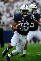 17 September 2016:  Penn State RB Saquon Barkley (26). The Penn State Nittany Lions defeated the Temple Owls 34-27 at Beaver Stadium in State College, PA. (Photo by Randy Litzinger/Icon Sportswire)