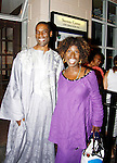 One Life To Live's Timothy Stickney poses with his sister Phyllis Stickney - The National Black Theatre Festival with a week of plays, workshops and much more with an opening night gala of dinner, awards presentation followed by Black Stars of the Great White Way followed by a celebrity reception. It is an International Celebration and Reunion of Spirit. (Photo by Sue Coflin/Max Photos)