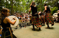 Band Albannach during the 52nd Annual Grandfather Mountain Highland Games in Linville, NC.