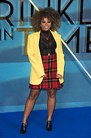 Fleur East attends A WRINKLE IN TIME European Premiere - London, UK  March 13, 2018. Credit: Ik Aldama/DPA/MediaPunch ***FOR USA ONLY***