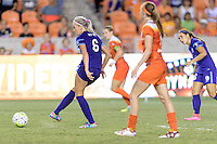 Houston, TX - Saturday Sept. 03, 2016: Kaylyn Kyle during a regular season National Women's Soccer League (NWSL) match between the Houston Dash and the Orlando Pride at BBVA Compass Stadium.