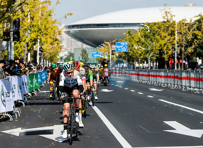 Action from the 2018 Shanghai Criterium, Shanghai, China. 17th November 2018.<br /> Picture: ASO/Alex Broadway | Cyclefile<br /> <br /> <br /> All photos usage must carry mandatory copyright credit (© Cyclefile | ASO/Alex Broadway)