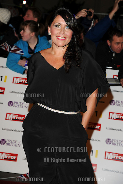 Zoe Tyler arriving for the 2010 Pride Of Britain Awards, at the Grosvenor House Hotel, London. 08/11/2010  Picture by: Steve Vas / Featureflash
