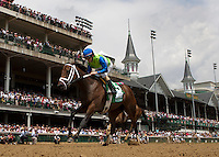May 4, 2012. Juanita and Ramon Dominguez win the La Troienne Stakes at Churchill Downs in Louisville, KY
