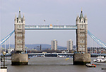 The TowerBridge in London photographed April 3,2004.(Dave Rossman/Special to the Chronicle)