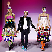 Retrospective of Fashion Designer Manish Arora at the V&A Museum in London for the Fashion in Motion series.