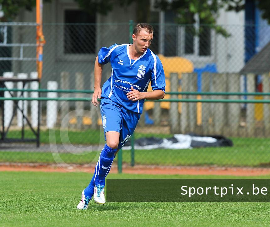 FC Lendelede Sport : Jordy Verfaillie.foto VDB / BART VANDENBROUCKE