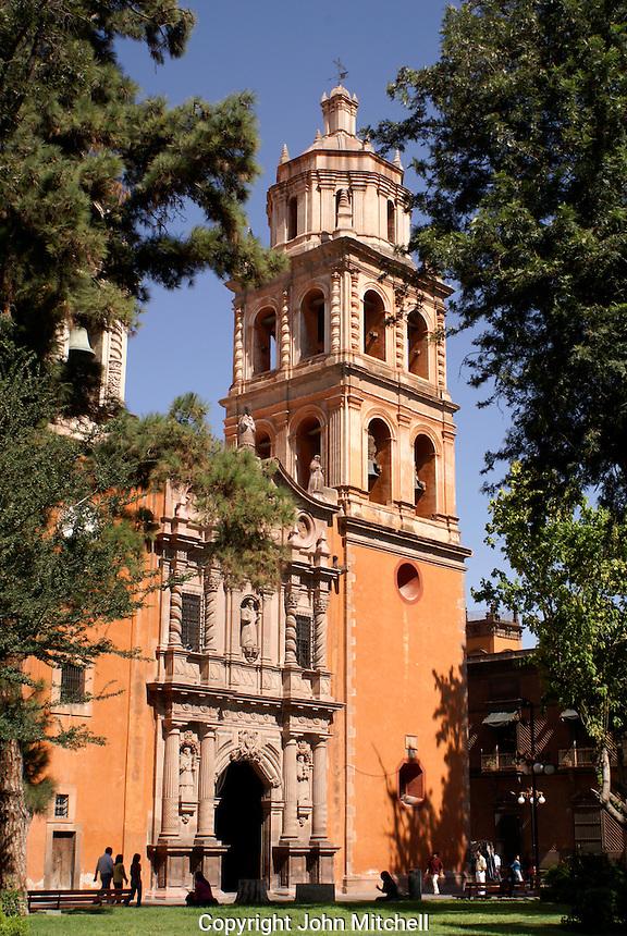 San Francisco Church in the city of San Luis de Potosi, Mexico