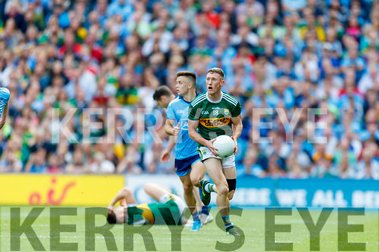 Jonathan Lyne, Kerry during the GAA Football All-Ireland Senior Championship Final match between Kerry and Dublin at Croke Park in Dublin on Sunday.