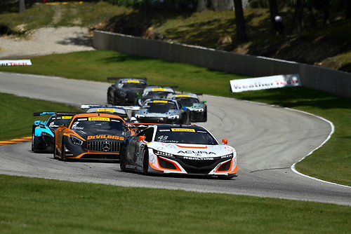 Pirelli World Challenge<br /> Grand Prix of Road America<br /> Road America, Elkhart Lake, WI USA<br /> Sunday 25 June 2017<br /> Ryan Eversley<br /> World Copyright: Richard Dole/LAT Images<br /> ref: Digital Image RD_USA_00324