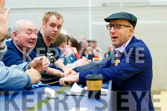 Michael Healy-Rae at the General Election count in Killarney on Sunday.
