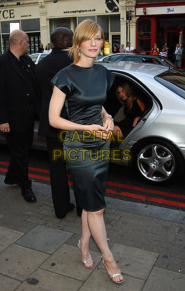 """CATE BLANCHETT.star of """"Veronica Guerin"""" at her film premiere.at Screen on the Green, Islington.sales@capitalpictures.com.www.capitalpictures.com.©Capital Pictures..dress designed by Stella McCartney, silver heels"""