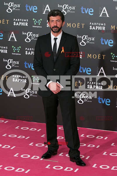 Alberto Rodriguez attend the 2015 Goya Awards at Auditorium Hotel, Madrid,  Spain. February 07, 2015.(ALTERPHOTOS/)Carlos Dafonte) /NORTEphoto.com