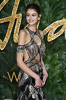 Kaia Gerber<br /> arriving for The Fashion Awards 2018 at the Royal Albert Hall, London<br /> <br /> ©Ash Knotek  D3466  10/12/2018