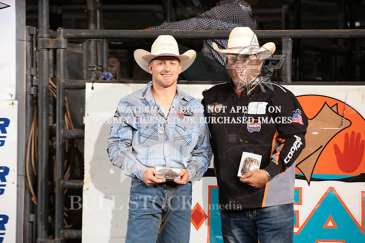 Brennon Eldred wins the second day of the Bismarck Real Time Pain Relief Velocity tour PBR. Photo by Andy Watson