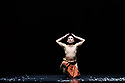 """Sadler's Wells presents """"Sadler's Wells Sampled"""". A regular fixture at Sadler's Wells since 2007, """"Sadler's Wells Sampled"""" showcases a wide variety of dance, from ballet to waacking, and contemporary dance to classical Indian dance. Appearing on both evenings, an eclectic line-up of renowned performers and dance companies comprises Mavin Khoo, Richard Alston Dance Company, Uchenna Dance, BirdGang, Patricia Guerrero, Semperoper Ballett and Rambert2. Picture shows: Mavin Khoo in """"Odissi Solo""""."""