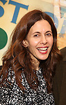 Jessica Hecht attends the press reception for the Opening Night of the Lincoln Center Theater Production of 'The Babylon Line'  at the Mitzi E. Newhouse Theatre on December 5, 2016 in New York City.