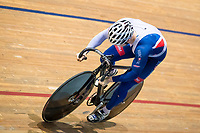 Picture by Alex Whitehead/SWpix.com - 11/10/2017 - British Cycling - Great Britain Cycling Team Sprint Practice Session - HSBC UK National Cycling Centre, Manchester, England - Jack Carlin.