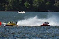 3-4 May 2008, Pickwick,TN USA.Terry Rinker leads Shaun Torrente through the left/right chicane..©2008 F.Peirce Williams