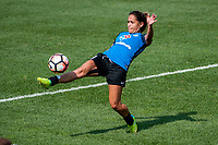 Kansas City, MO - Saturday September 9, 2017: Lo'eau Labonta during a regular season National Women's Soccer League (NWSL) match between FC Kansas City and the Chicago Red Stars at Children's Mercy Victory Field.