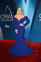 NASHVILLE, TN - NOVEMBER 8:  Carrie Underwood arrives at the 51st Annual CMA Awards at the Bridgestone Arena on November 8, 2017 in Nashville, Tennessee. (Photo by Tonya Wise/PictureGroup)
