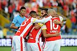 Independiente Santa Fe inició el Torneo Clausura Colombiano 2015 con goleada 4-0 sobre Equidad en el estadio Nemesio Camacho El Campín de Bogotá.