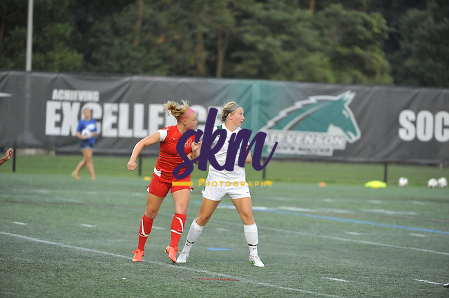 Stevenson University women's soccer hosted the Dickinson Red Devils Tuesday night at Mustang Stadium in Owings Mills taking a 3-2 win in OT.