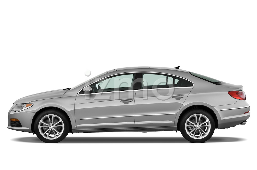 Driver side profile view of a 2009 volkswagen cc luxary.