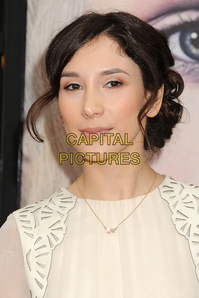 "Sibel Kekilli.""Game Of Thrones"" 3rd Season Los Angeles Premiere held at the TCL Chinese Theatre, Hollywood, California, USA..March 18th, 2013.headshot portrait white.CAP/ADM/BP.©Byron Purvis/AdMedia/Capital Pictures."