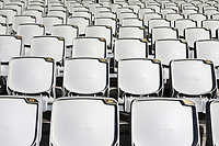 General view of empty seats during Lancashire CCC vs Essex CCC, Specsavers County Championship Division 1 Cricket at Emirates Old Trafford on 6th September 2017