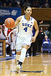 06 December 2012: Duke's Chloe Wells. The Duke University Blue Devils played the Georgia Tech University Yellow Jackets at Cameron Indoor Stadium in Durham, North Carolina in an NCAA Division I Women's Basketball game. Duke won the game 85-52.