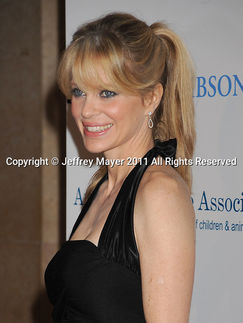 BEVERLY HILLS, CA - OCTOBER 01: Kristin Bauer arrives at The American Humane Association's First Annual Hero Dog Awards at The Beverly Hilton Hotel on October 1, 2011 in Beverly Hills, California.