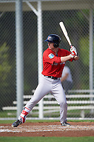 Boston Red Sox Danny Mars (40) during an Instructional League game against the Minnesota Twins on September 24, 2016 at CenturyLink Sports Complex in Fort Myers, Florida.  (Mike Janes/Four Seam Images)