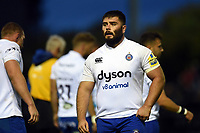 Will Vaughan of Bath Rugby looks on during a break in play. Pre-season friendly match, between Edinburgh Rugby and Bath Rugby on August 17, 2018 at Meggetland Sports Complex in Edinburgh, Scotland. Photo by: Patrick Khachfe / Onside Images