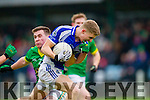 Templenoe's Gavin Crowley and Curraha's Niall Murphy in the AIB GAA Football All Ireland Junior Club Championship.