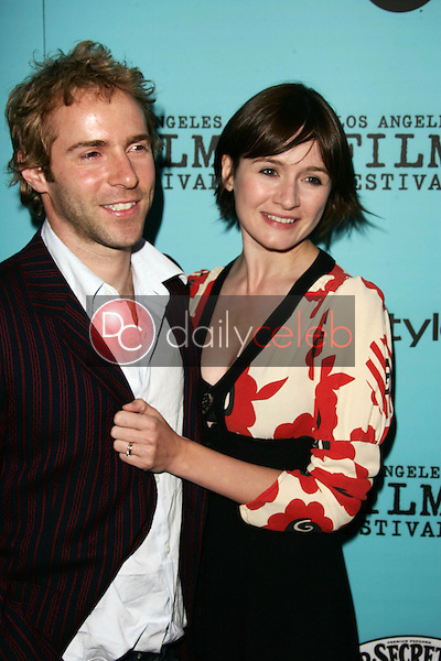 Alessandro Nivola and Emily Mortimer<br />