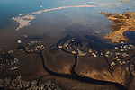 Kenya, Rift Valley, thousands of lesser flamigos on Lake Bogoria