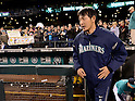 Hisashi Iwakuma (Mariners),.APRIL 12, 2013 - MLB :.Hisashi Iwakuma of the Seattle Mariners is celebrated his birthday by fans after the baseball game against the Texas Rangers at Safeco Field in Seattle, Washington, United States. (Photo by AFLO)
