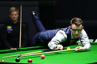 Beijing, CHINA-4th April 2018: Neil Robertson competes with Sam Craigie at Snooker China Open 2018 in Beijing, April 4th, 2018. (EDITORIAL USE ONLY. CHINA OUT)