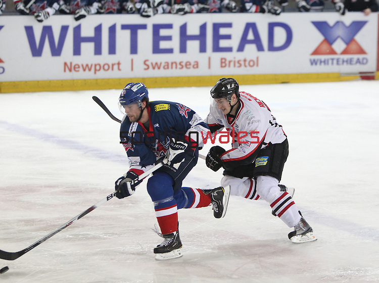 Elite League.Cardiff Devils v Dundee Stars.05.12.10..Photo Credit: STEVE POPE - SPORTINGWALES
