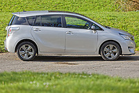 A 2015 Toyota Verso. Friday 13 March 2020