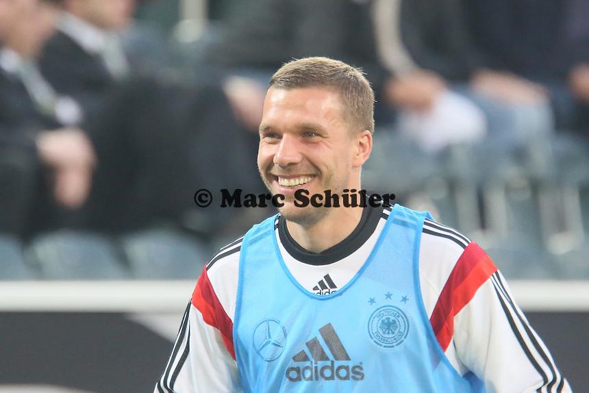 Lukas Podolski (D) - Deutschland vs. Kamerun, Mönchengladbach