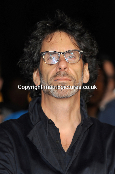 NON EXCLUSIVE PICTURE: PAUL TREADWAY / MATRIXPICTURES.CO.UK<br /> PLEASE CREDIT ALL USES<br /> <br /> WORLD RIGHTS<br /> <br /> American film director Joel Cohen attends the screening of Inside Llewyn Davis Centrepiece Gala Supported By The Mayor Of London, during the 57th BFI London Film Festival at the Odeon Leicester Square cinema, in London.<br /> <br /> OCTOBER 15th 2013<br /> <br /> REF: PTY 136765