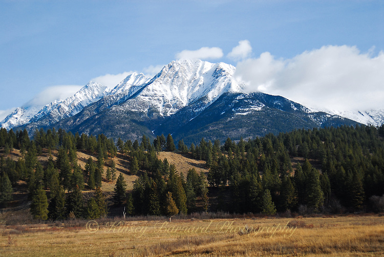 Snow-Capped Kootenay Rockies, British Columbia
