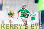 Kilmoyley in action against Liam Boyle Ballyduff in the County Senior Hurling Final at Austin Stack Park on Sunday.
