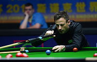 31st October 2019, Yushan, Jiangxi Province, China; David Gilbert of England competes during the round of 16 match against Mark Allen of Northern Ireland at 2019 Snooker World Open in Yushan