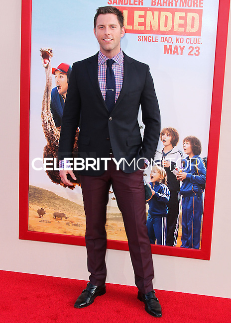 HOLLYWOOD, LOS ANGELES, CA, USA - MAY 21: Michael Lomenda at the Los Angeles Premiere Of Warner Bros. Pictures' 'Blended' held at the TCL Chinese Theatre on May 21, 2014 in Hollywood, Los Angeles, California, United States. (Photo by Xavier Collin/Celebrity Monitor)